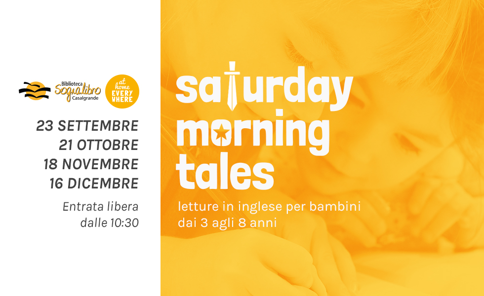 Saturday Morning Tales – Letture animate in inglese