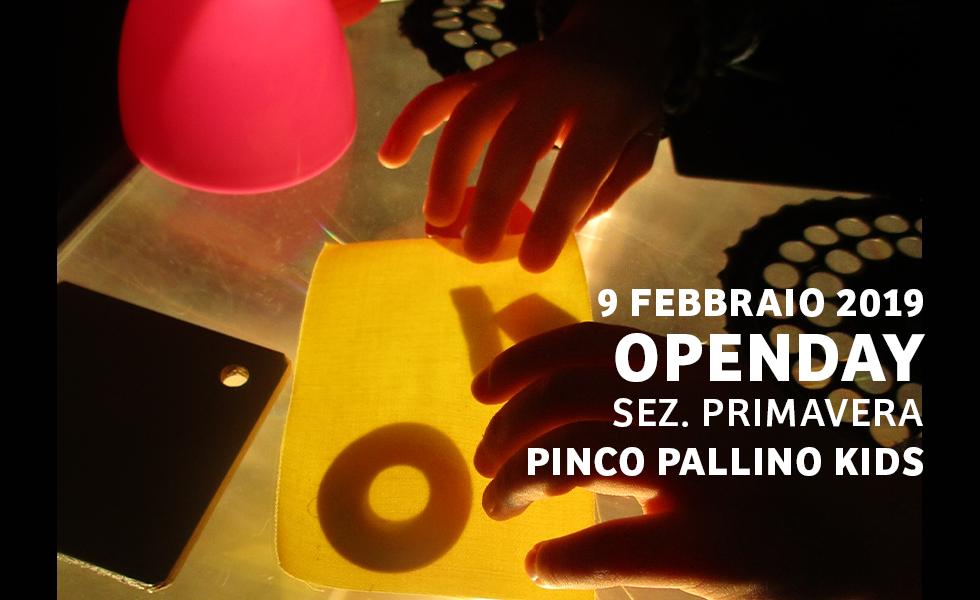 Open Day Sez. Primavera – Scuola Pinco Pallino Kids
