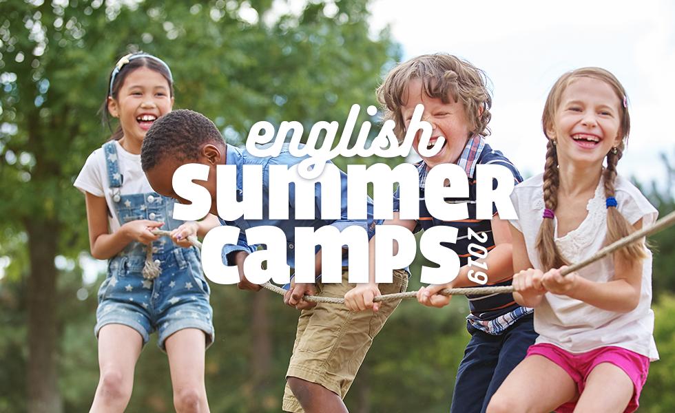 Arrivano gli English Summer Camp 2019!