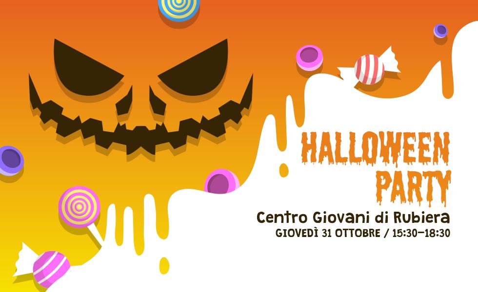 Halloween Party al Centro Giovani di Rubiera!