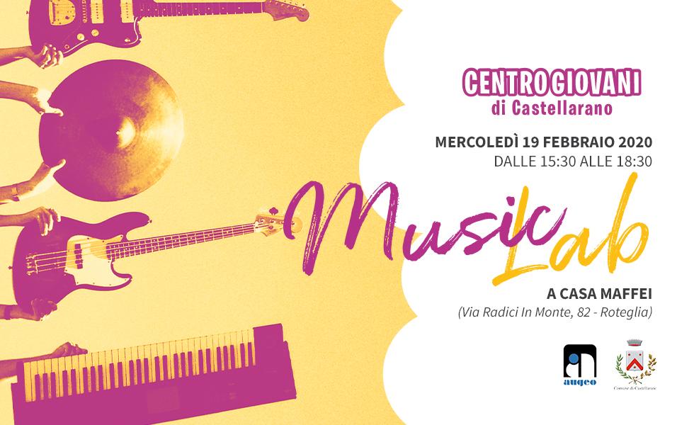 Centro Giovani di Castellarano – Laboratorio musicale