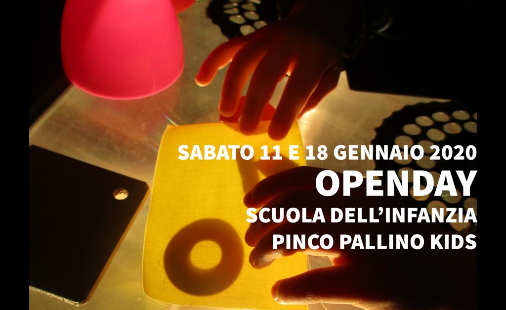 """Open Day Scuola dell'Infanzia """"Pinco Pallino Kids"""""""