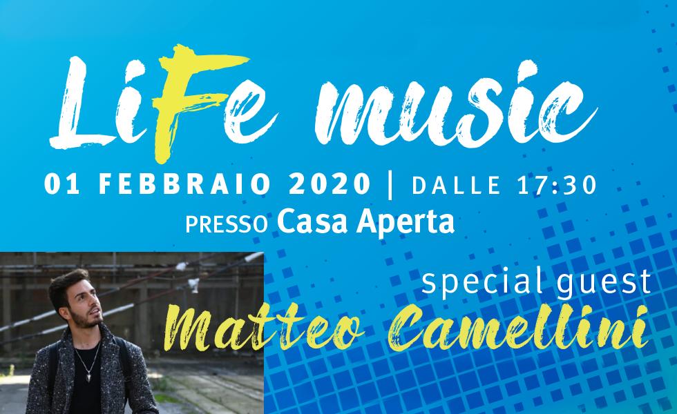 LiFE Music! Evento al Centro Giovani di Castellarano