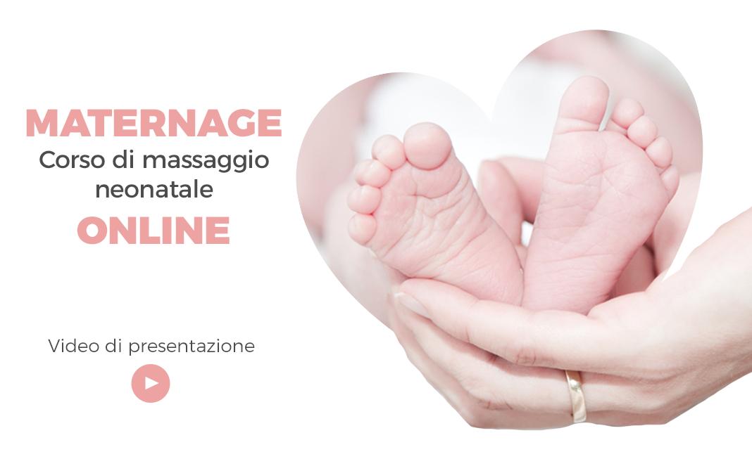 Maternage Online: Corso di Massaggio Neonatale