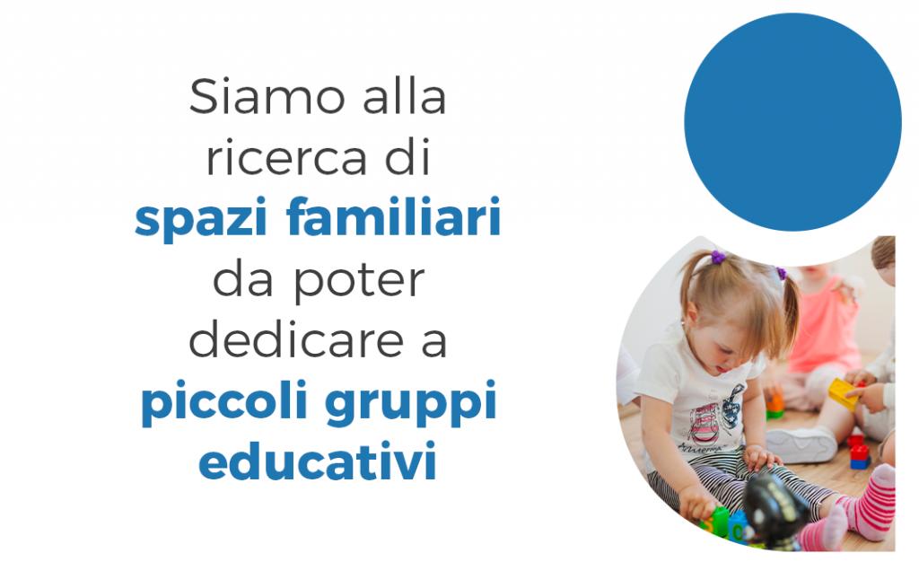 Augeo cerca Spazi per piccoli gruppi educativi per bambini da 3 a 10 anni