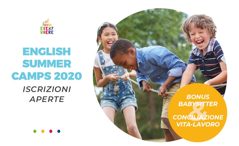 English Summer Camp 2020: Iscrizioni aperte e partenza 15 Giugno!