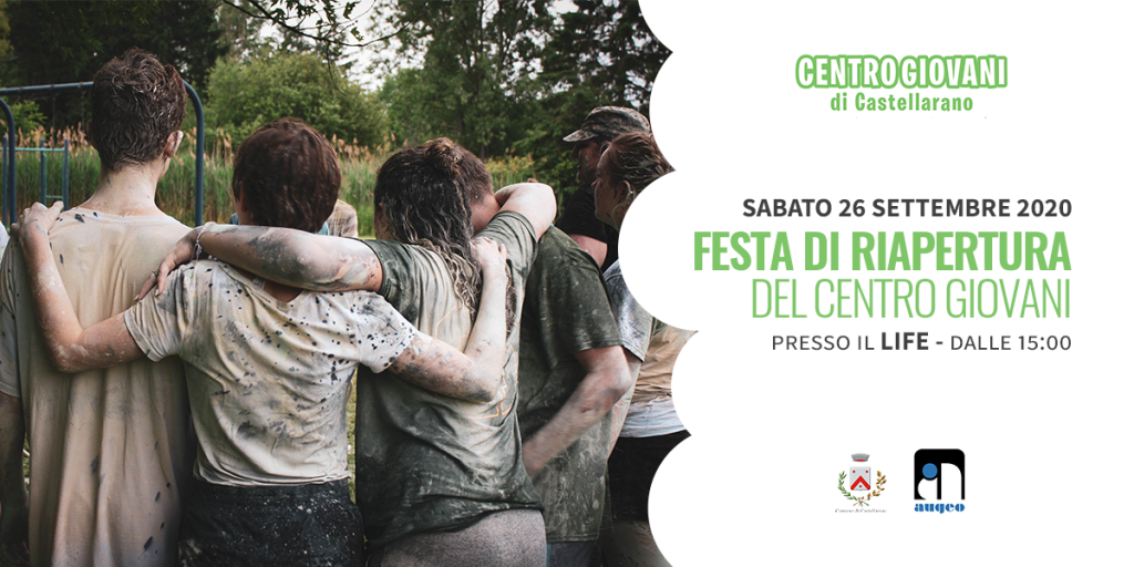 Riparte il Centro Giovani di Castellarano! | 26 Settembre 2020