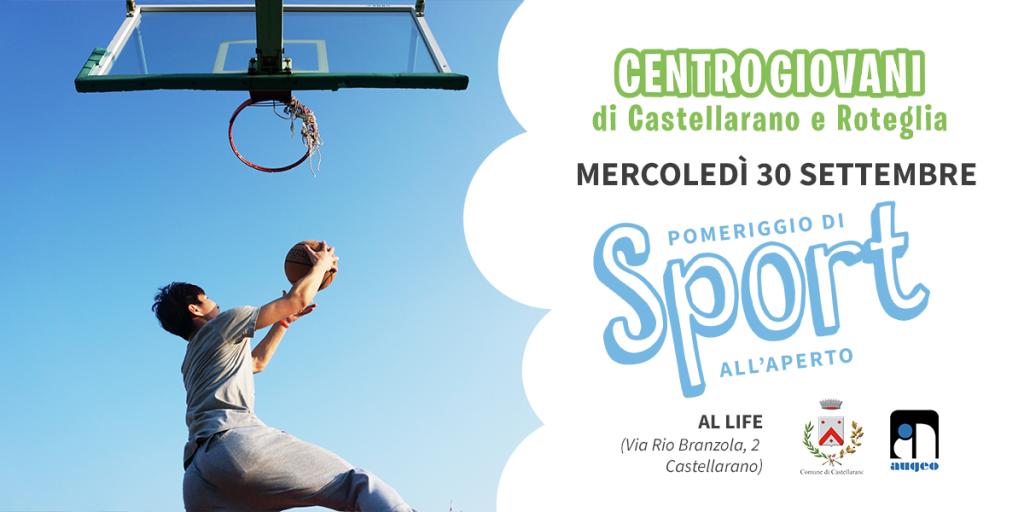Centro Giovani di Castellarano | Pomeriggio di Sport