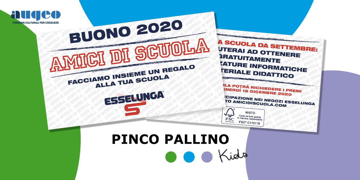 """Aiuta il Pinco Pallino Kids con i buoni """"Amici di Scuola"""""""