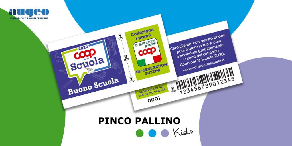Coop per la scuola 2020: aiuta il Pinco Pallino Kids!