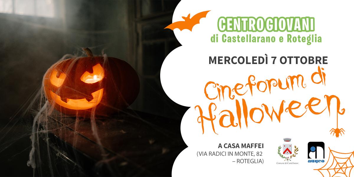 Centro Giovani di Castellarano | Cineforum di Halloween