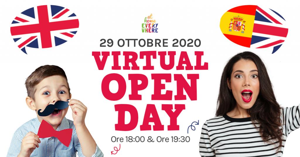 VIRTUAL OPEN DAY: SCOPRI I CORSI DI LINGUE 2020/2021!