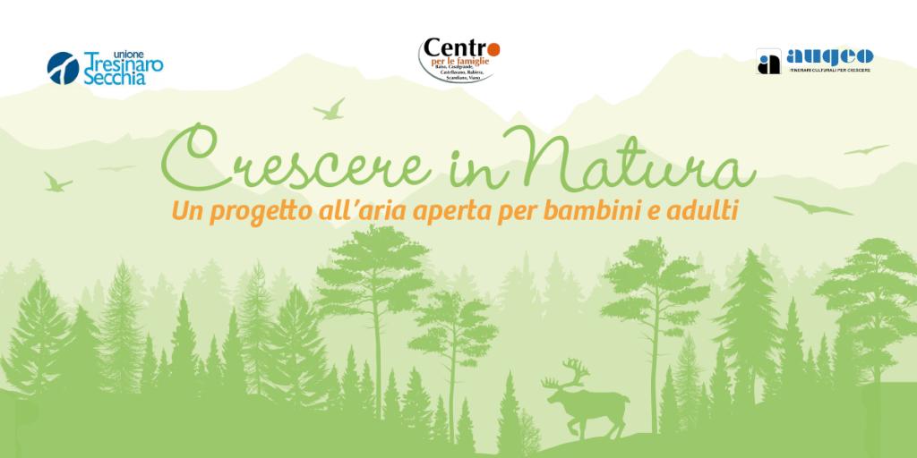 Crescere in Natura – un progetto all'aria aperta per bambini e adulti